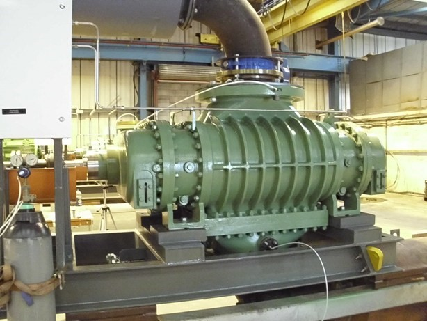 Single-stage Duragas Compressor with a Rated Flow of 50,000 m³/h (30,000 CFM)